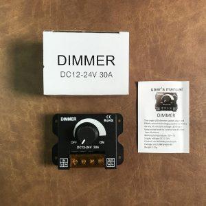 Dimmer 12-24v 30A