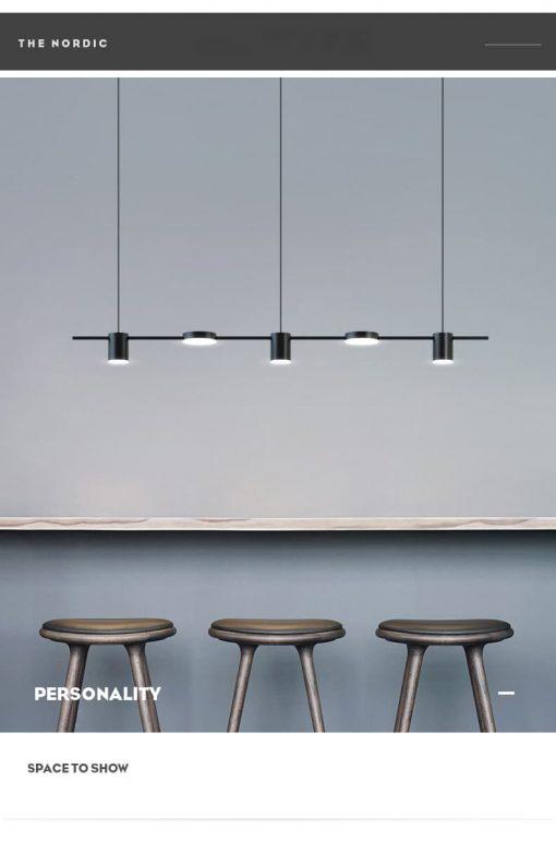 Đèn thả hiện đại phong các tối giản