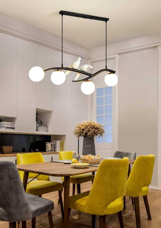 Đèn thả bàn ăn phong cách bắc Âu hiện đại/ Đèn thả trần/ Đèn thả bàn ăn/ Đèn trang trí bàn ăn