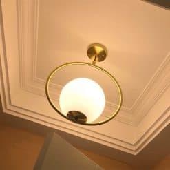 Đèn thả phong cách tối giản