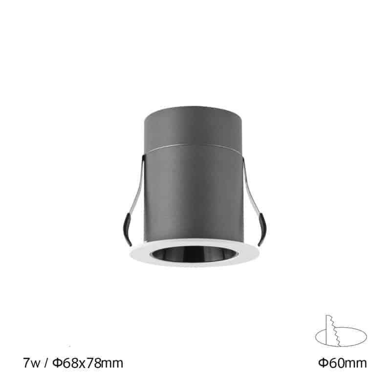 Đèn âm trần MIU045/ MIU055